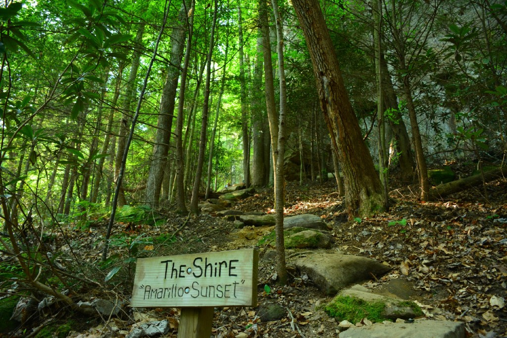 The Shire in PMRP in Red River Gorge, KY
