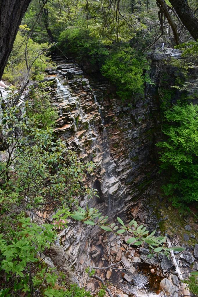 Verkerder Falls in full view
