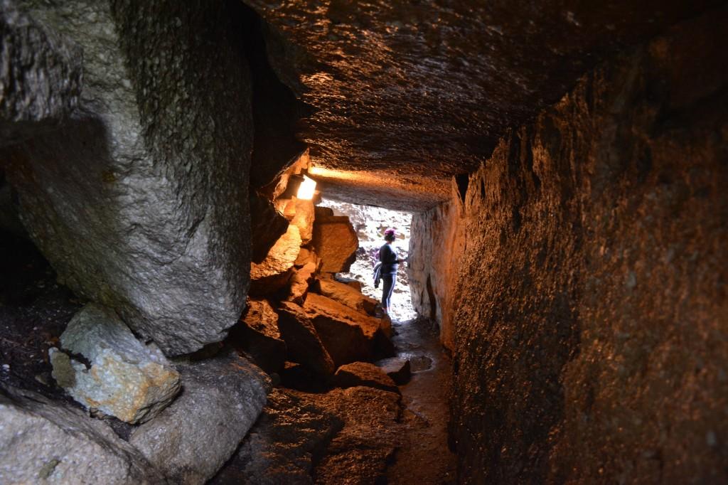 rock tunnels