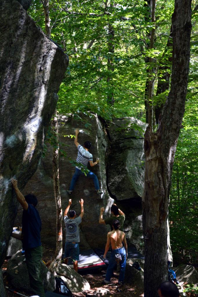 Bouldering In The Adirondacks