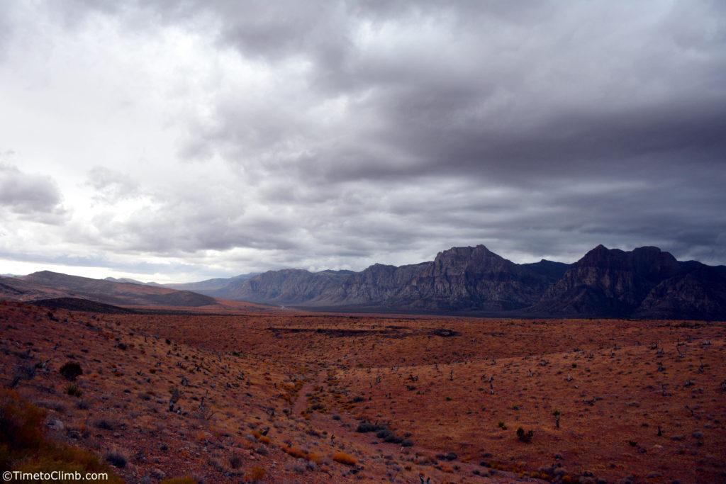 rock climbing red rock canyon Nevada