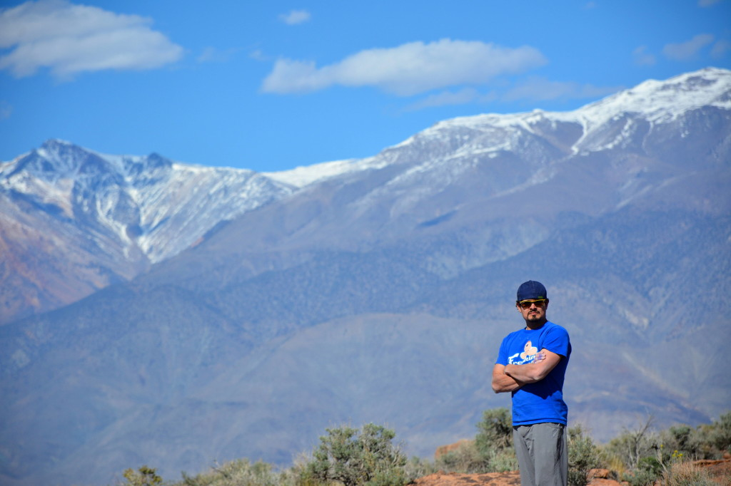 Melvin Rivera on the Time to Climb America Tour in Bishop California