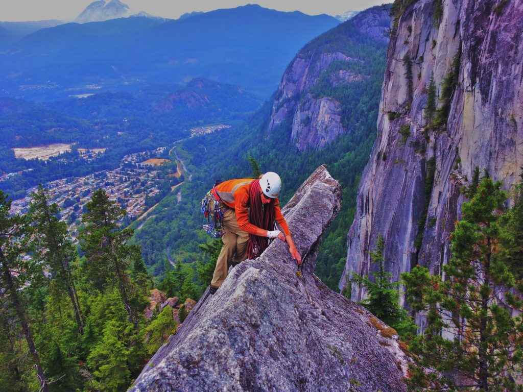 Traversing The Acrophobes on Angel's Crest – I hope you're not afraid of heights…