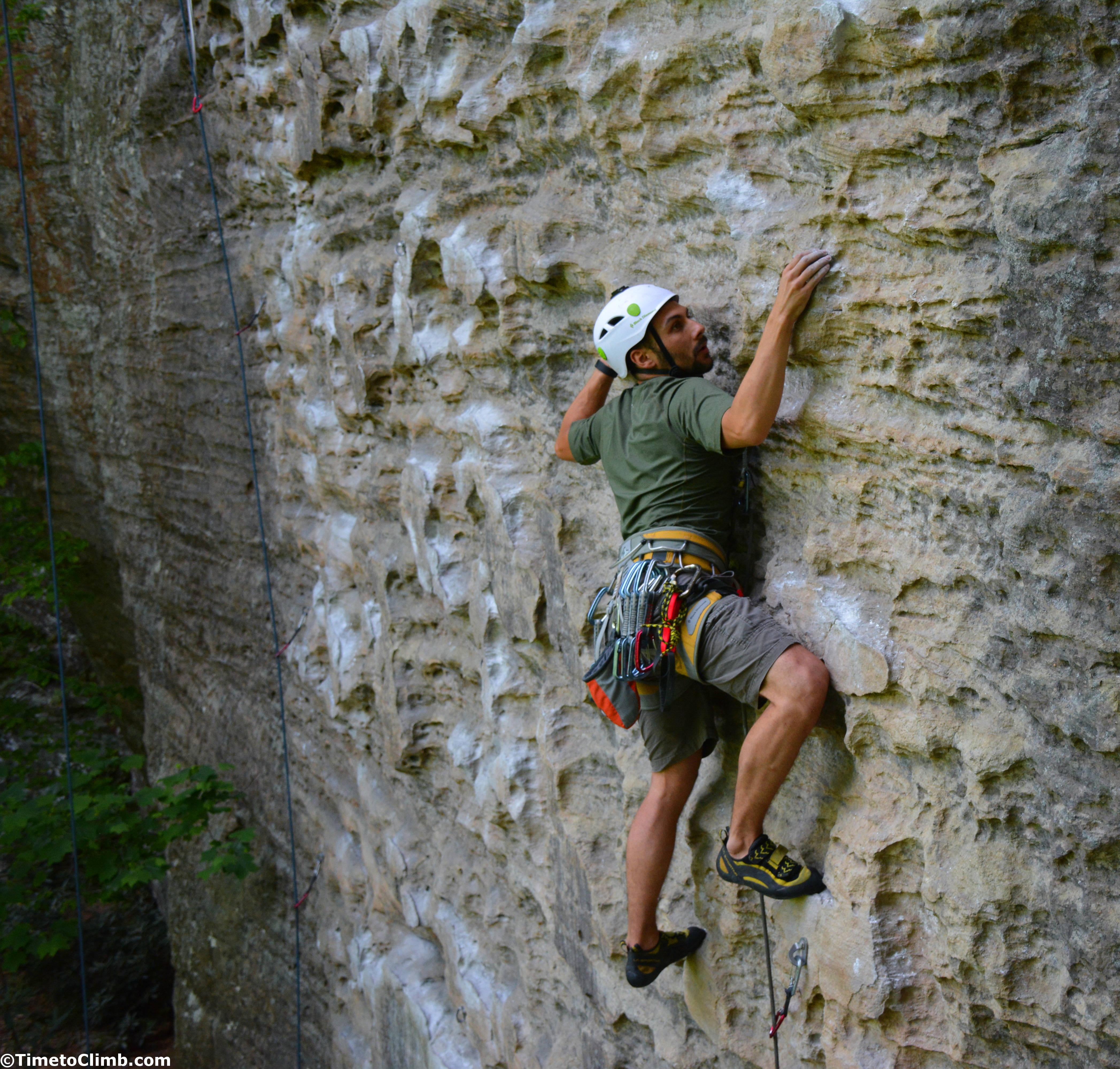 Muir Valley Climbing In Red River Gorge