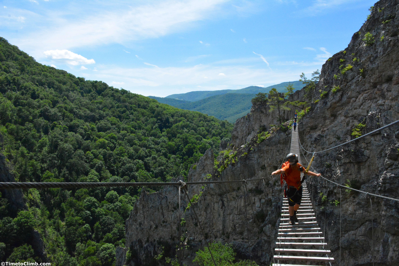 Seneca Rocks Wv >> Climbing The Via Ferrata At Nelson Rocks