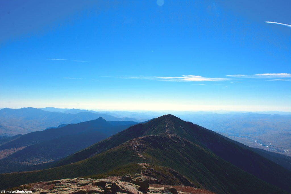 Franconia Ridge from Mount Lafayette toward Mount Lincoln