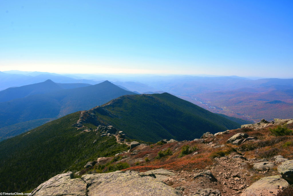 Franconia Ridge from Mount Lincoln toward Little Haystack