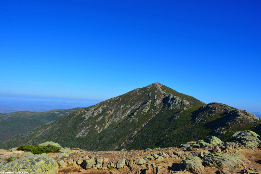 Mount Lincoln from Little Haystack Franconia Ridge NH