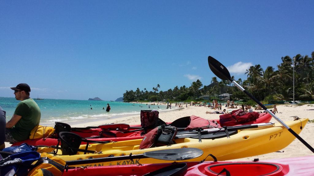 Moving to Paradise Kayak Instructor