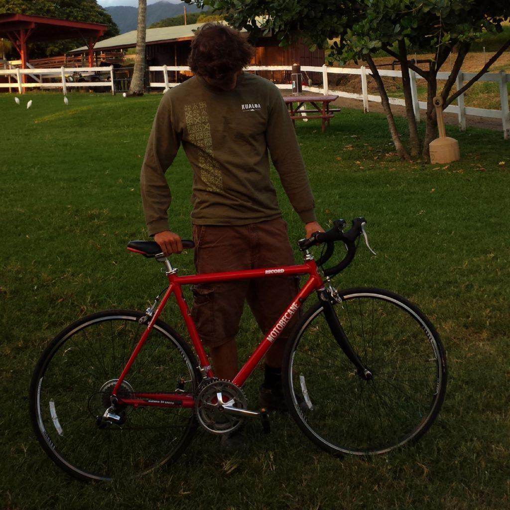 biking riding in Hawaii