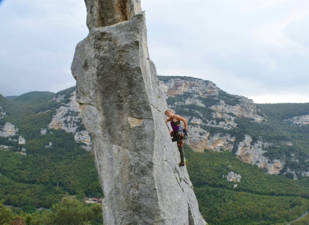rock climbing Italy - Finale