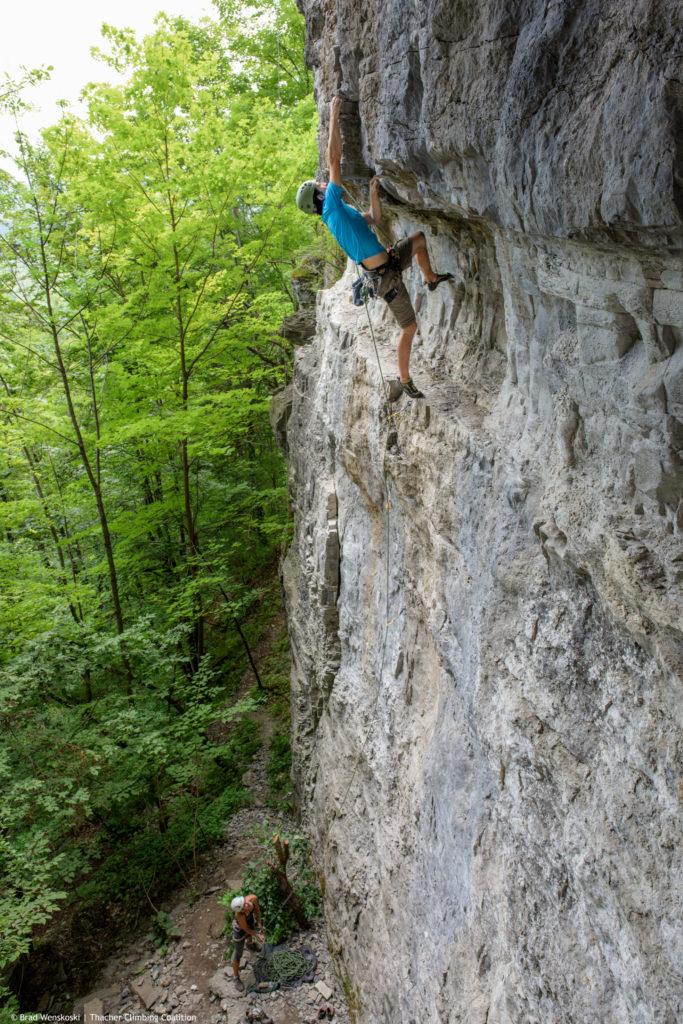 Sport Climbing Thacher State Park