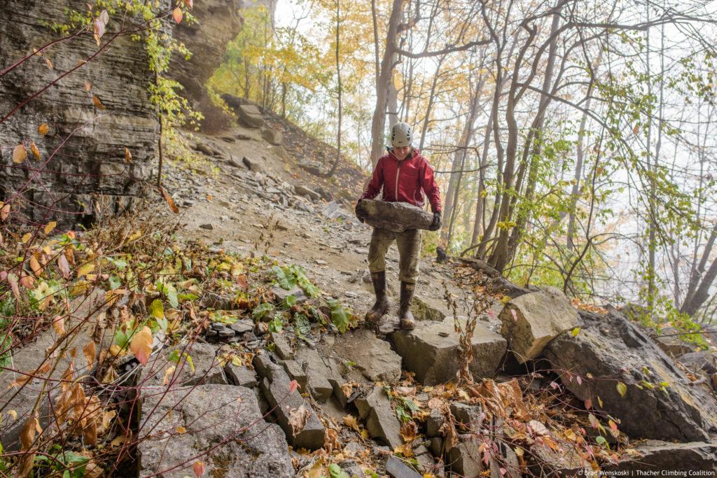 Thacher State Park climbing maintenance