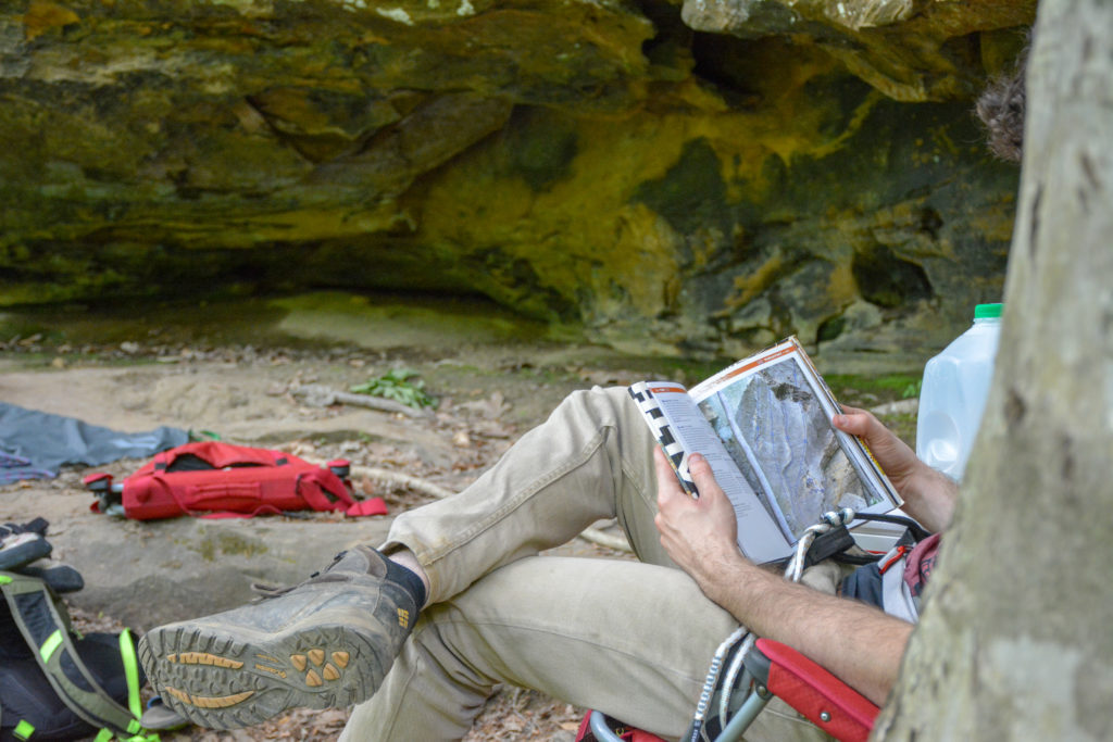 reading climbing books