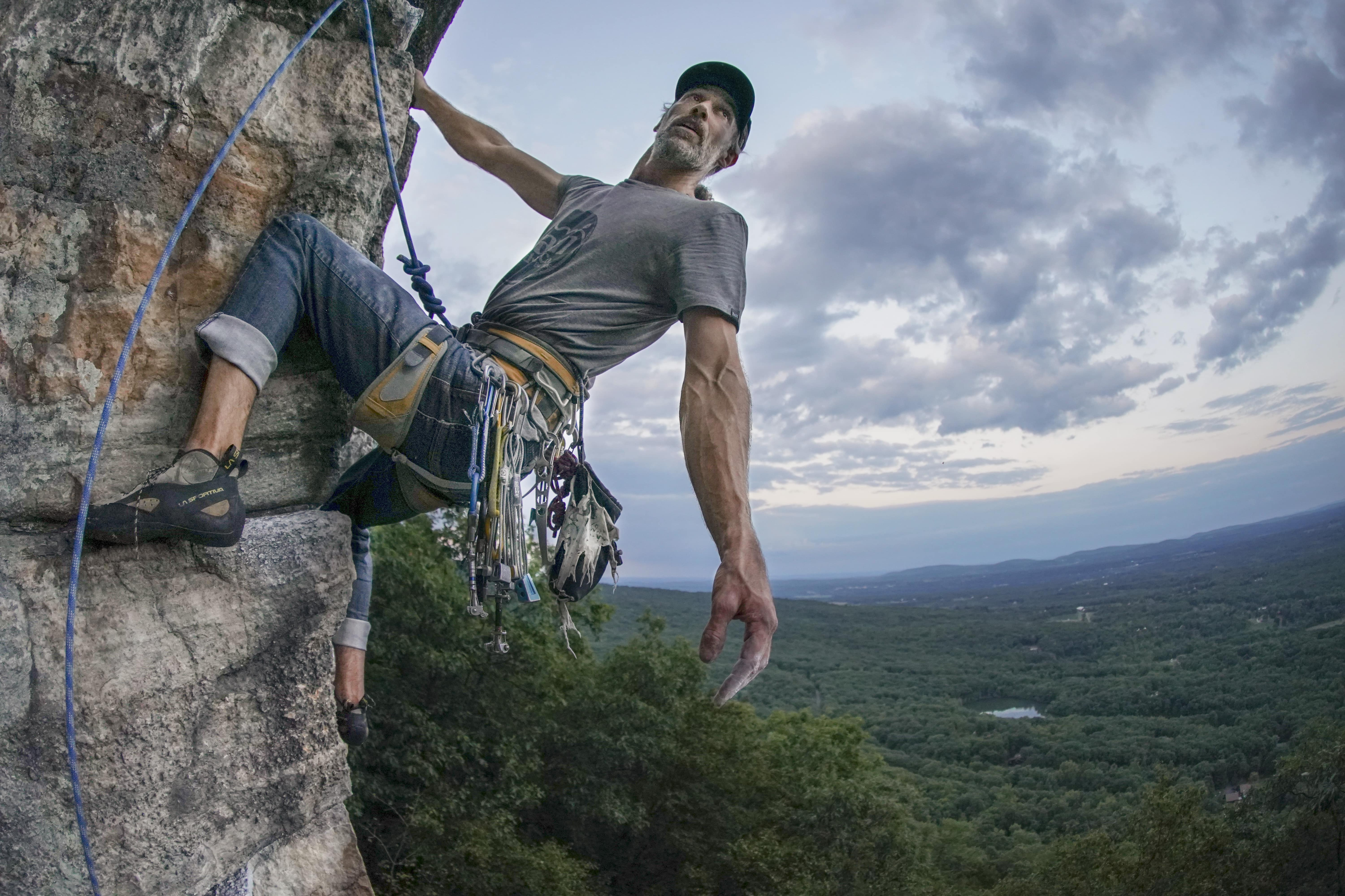 Feast of Fools 5.10b Gunks Climbing Trapps Mohonk Preserve