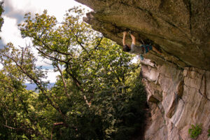 Gunks Routes - Kansas City 5.12c in the Nears Trapps